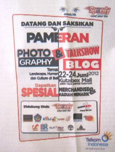 Bali Post Newspaper, 20 June 2012