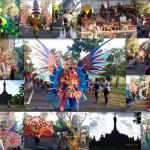 Kreasi Busana dalam Pembukaan Pawai PKB 2015 oleh AKARI (Asosiasi karnaval indonesia)