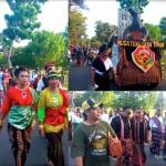 Kontingen Pawai PKB perwakilan FLOBAMORA Propinsi Nusa Tenggara Timur (NTT)
